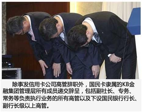 韩国国民银行和农协银行用户信息泄露