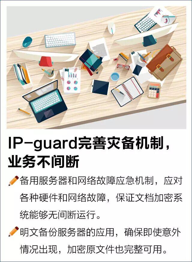 IP-guard完善灾备机制,业务不间断