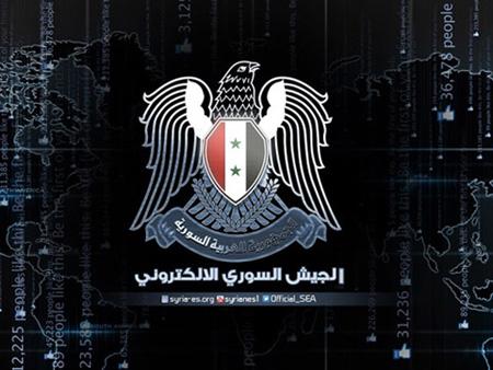 叙利亚电子军(The Syrian Electronic Army,简称SEA)