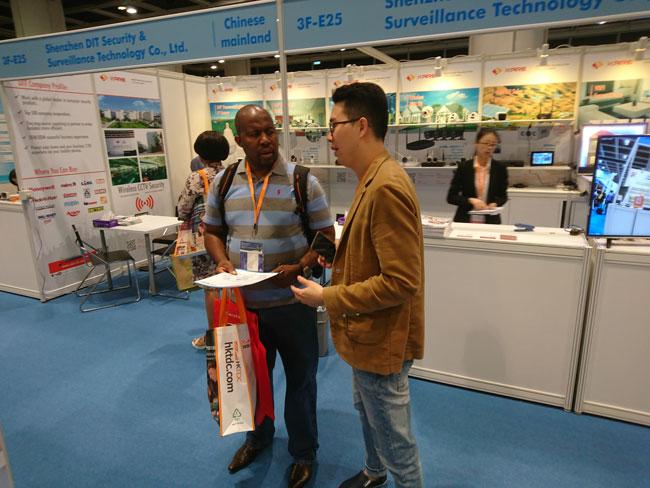 IP-guard参展国际资讯科技博览2017