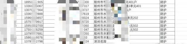青岛胶州中心医院疫情名单泄露