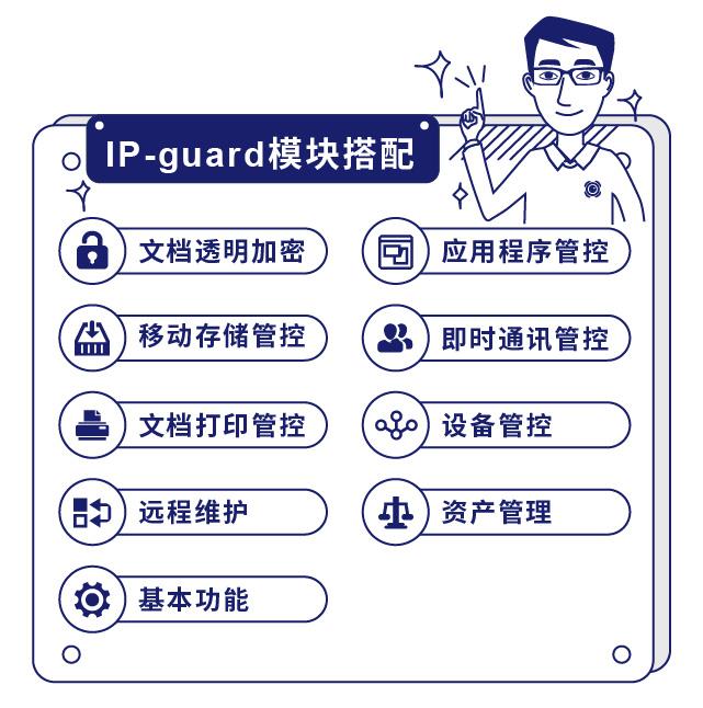 IP-guard资产高效管理